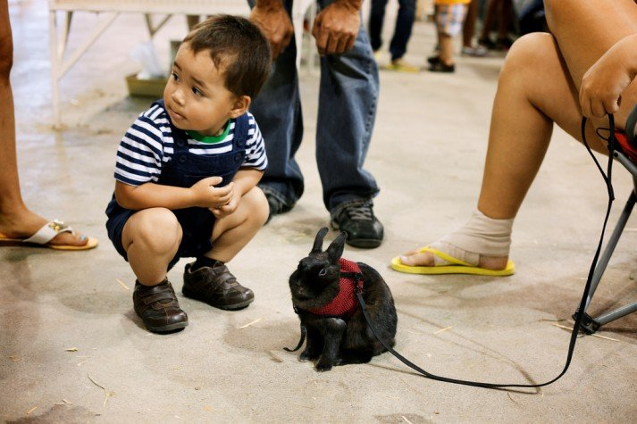 squat child