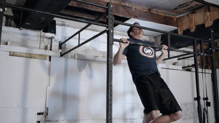 At Nerd Fitness we encourage everyone to get to their first pull-up!