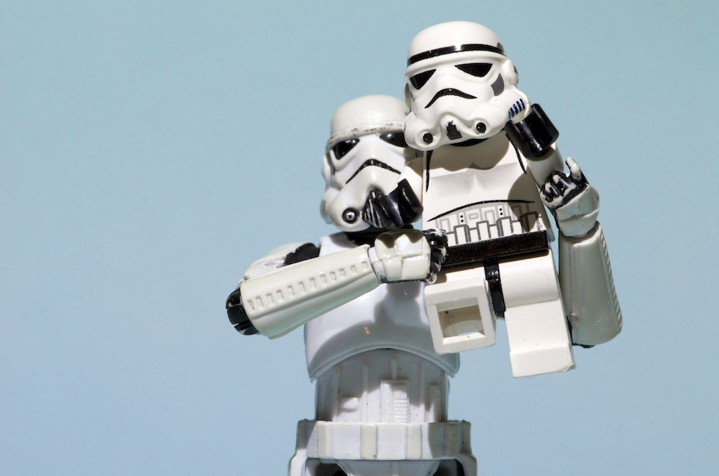 Now that you know how to overhead press, how's this trooper's form look?