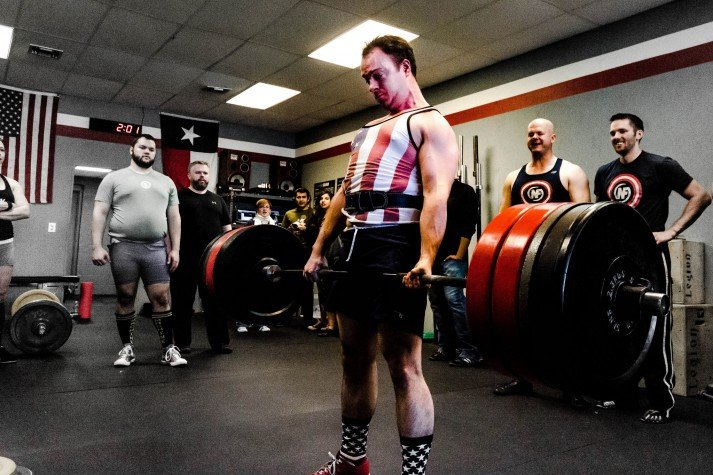 When we get together, we deadlift!