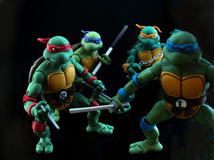 The Teenage Mutant Ninja Turtles Workout