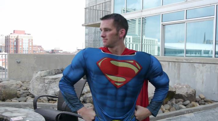 Steve Super Man