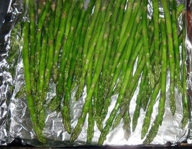 Asparagus is easy to grill.