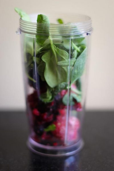 Smoothies are a great way to hide veggies.