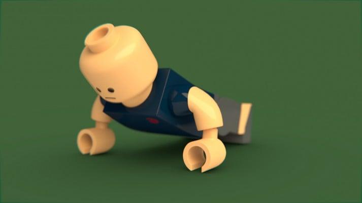 pushup lego