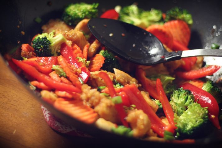 Stir Fry makes veggies tasty.