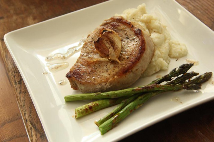 How to Make Pan Roasted Pork Chops