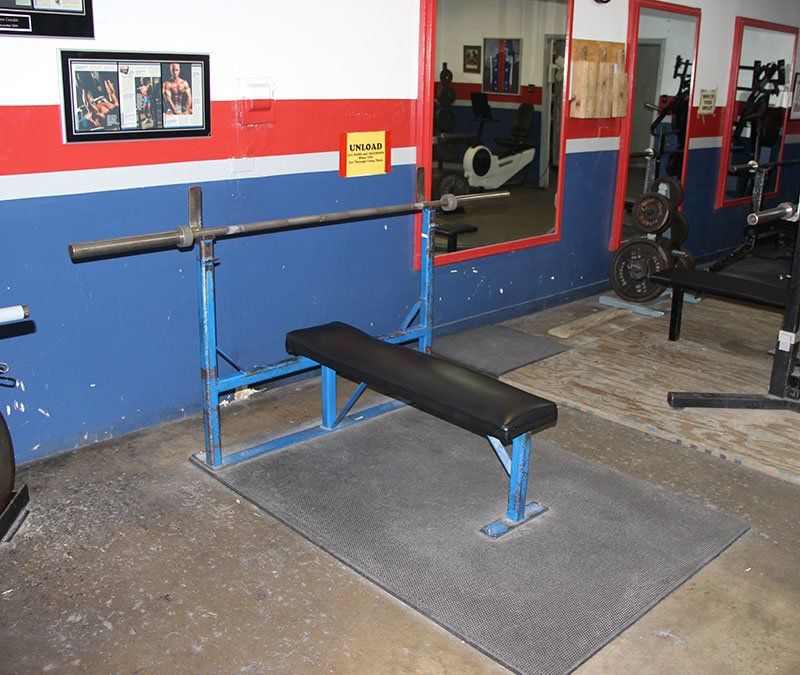 We don't need to make this complicated. A simple weight bench like this will be perfect for the press.