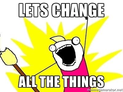 ChangeAllTheThings