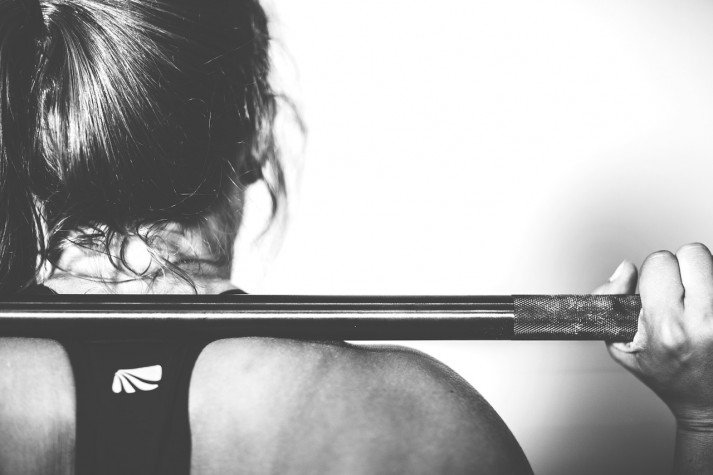 barbell woman