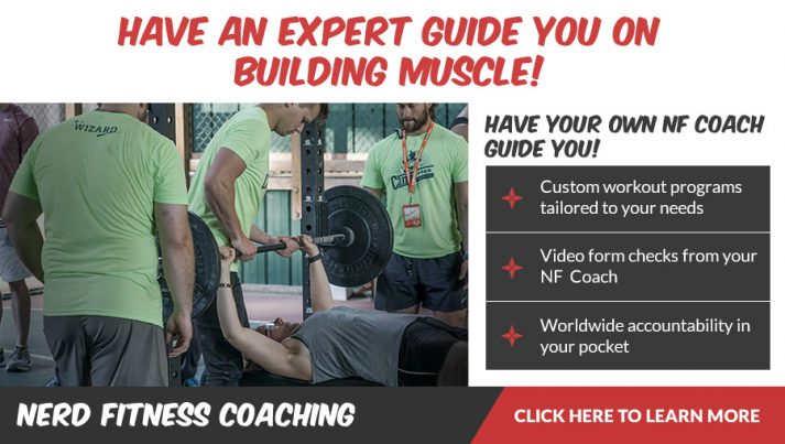 Your NF Coach can help you build muscle quickly
