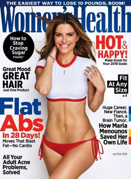 This cover of Women's Health promises all sorts of results for fast weight loss.