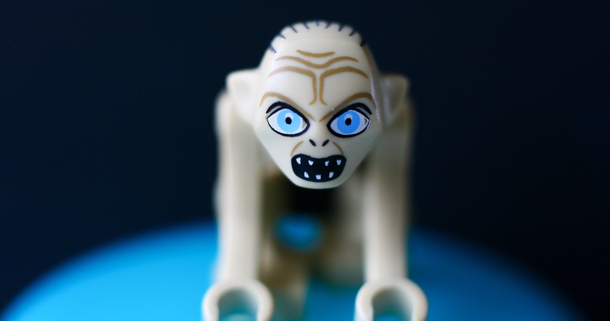 Is Gollum addicted to Diet Coke AND the Ring?