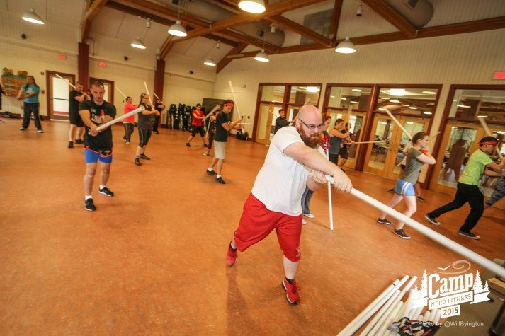 Camp Nerd Fitness 2015 Swords