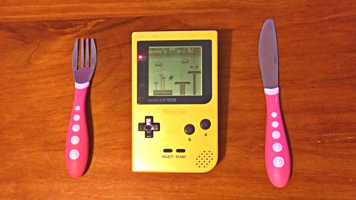 gameboy eating