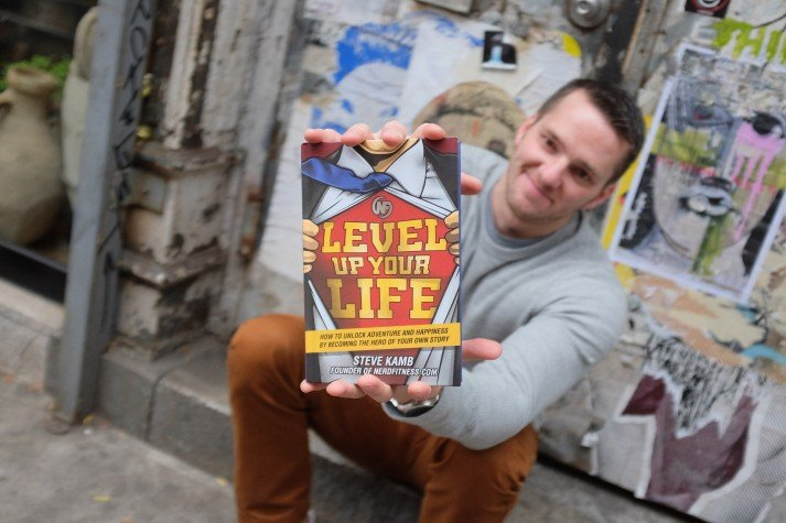 Level Up Your Life is Now Available! | Nerd Fitness