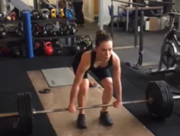 Rey from Star Wars Deadlifted 176 Pounds. How Does that Make You Feel?