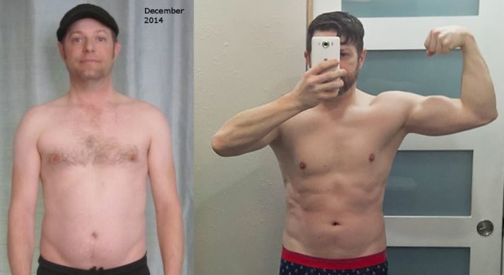 Larry transformed through the Keto Diet and Intermittent Fasting.