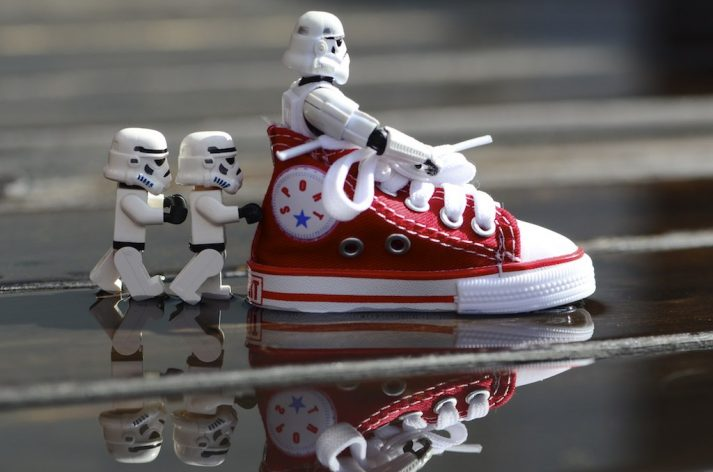 stormtrooper shoe