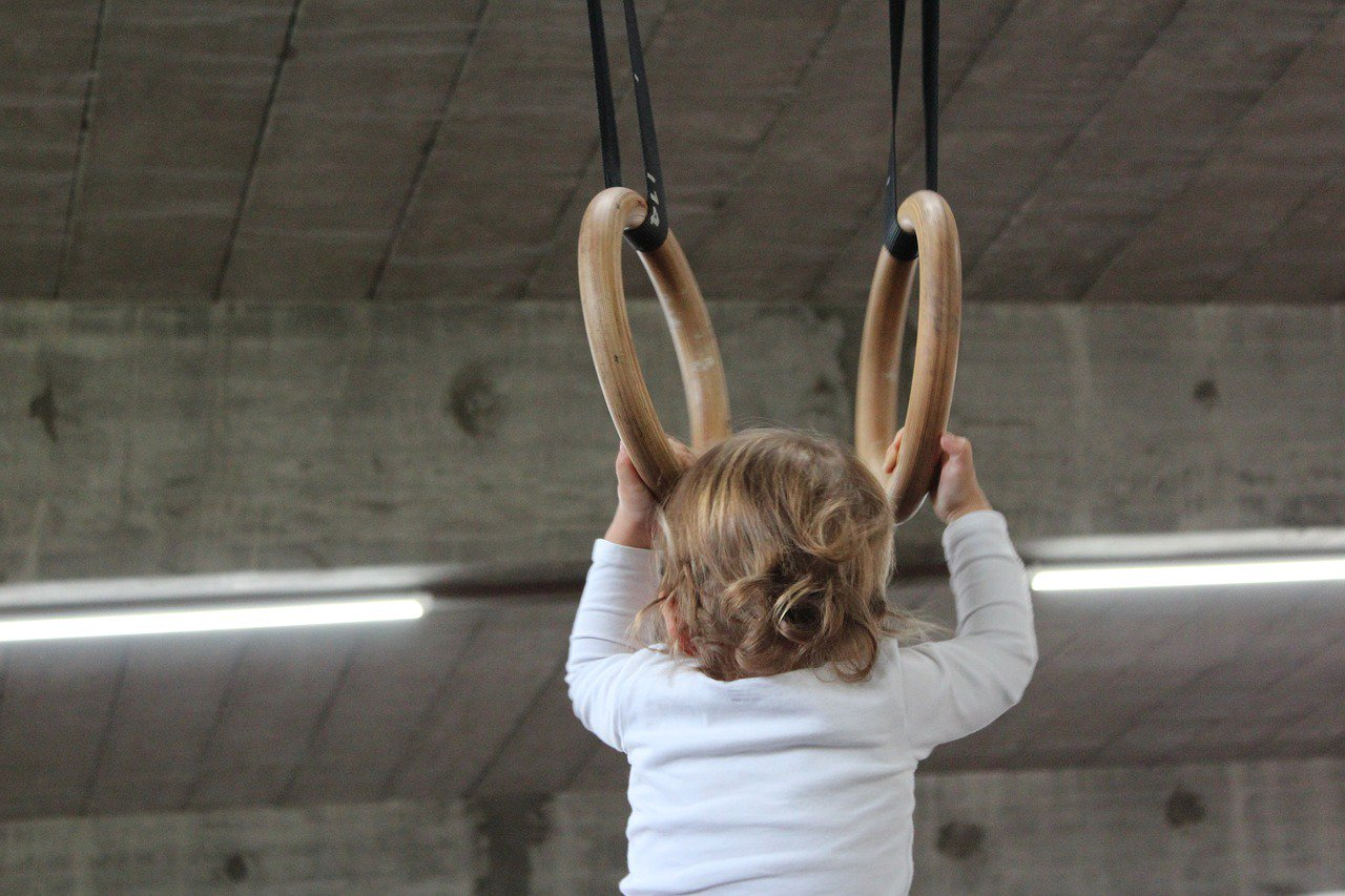 Everyone can train with gymnastic rings! If you can reach the ring, you're good to go!