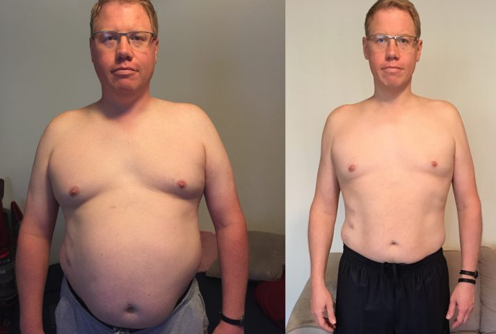 Tim from Nerd Fitness lost 50 pounds by walking and fixing his nutrition