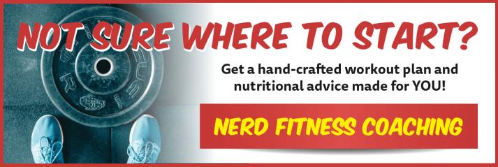 Nerd Fitness Coaching Banner