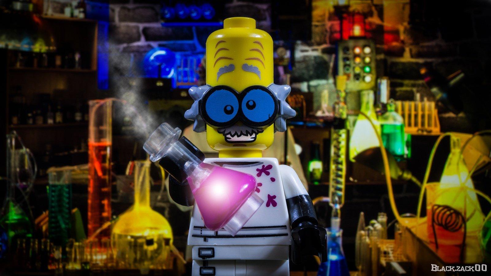 A LEGO scientist