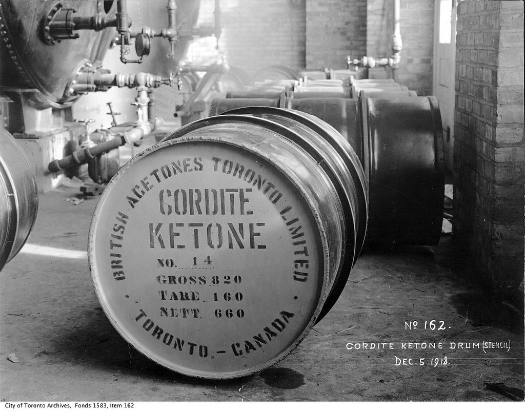 "Cordite isn't like the ""ketones"" we will talk about today. So don't start consuming gunpowder!"
