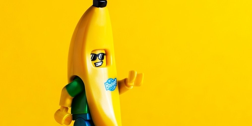 Why the banana suit? Because it's awesome!