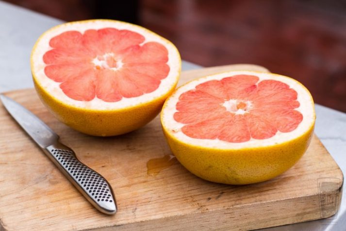 Grapefruit, and not much else, is allowed on the Military Diet.