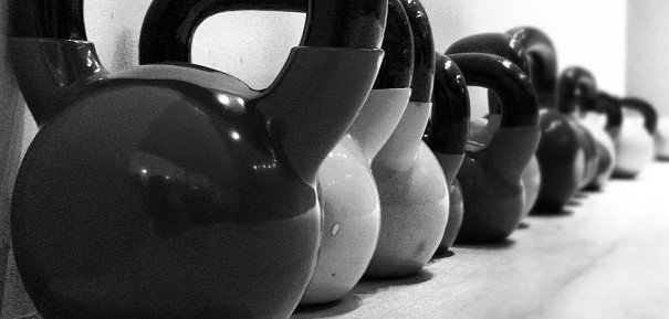 Kettlebells can provide a great full body workout.