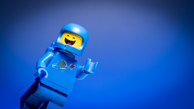 This LEGO wants you to know it's okay to accept who you are and also want to change.