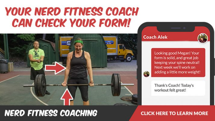 A NF Coach can check your deadlift form!