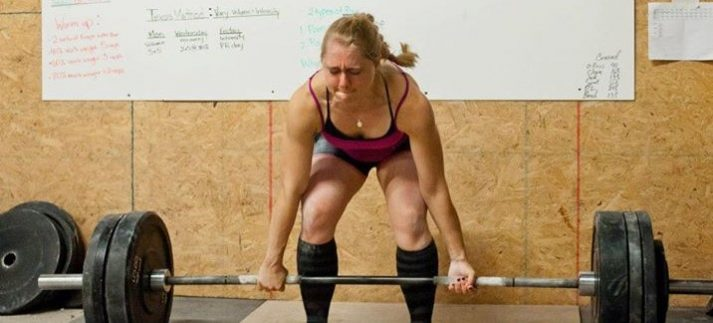 Deadlifting is Staci's favorite exercise of all time.