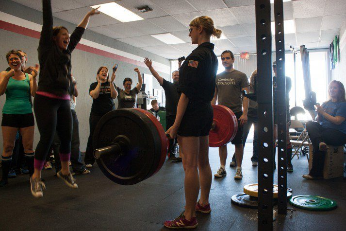 When Rebels get together, we deadlift like shown here.
