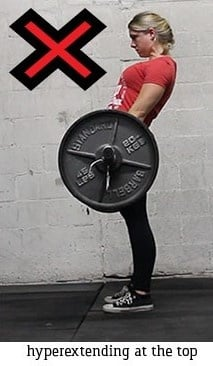 This is NOT how you want to end your deadlifting movement.