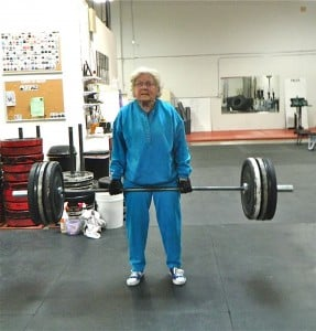 Can your grandma rock a deadlift like this lady here?