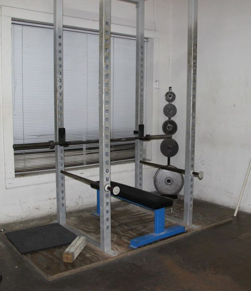 If you see this as the gym, you have a great tool for the bench press.