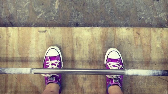 Do your shoes look like this? Then you're ready to deadlift!