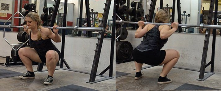 Here's how to properly do a barbell squat