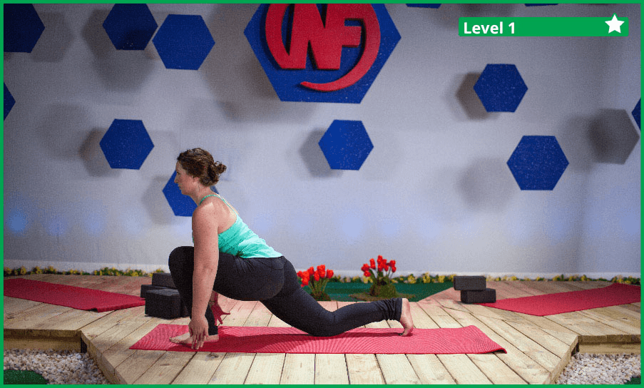 The Yoga Low Lunge