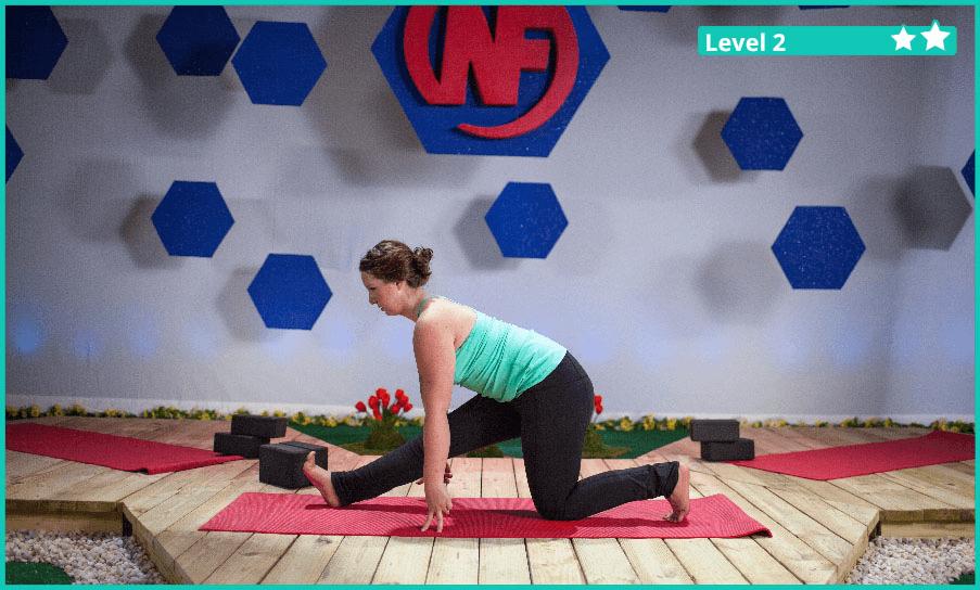 The Yoga Half Splits Pose