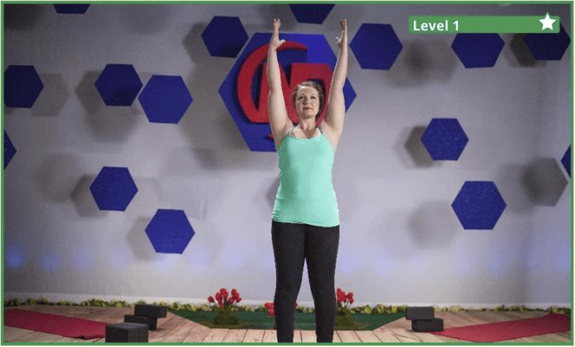 The Yoga Volcano Pose