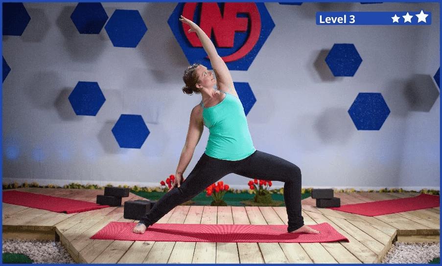 "The Yoga ""Rebel Warrior"" Pose"