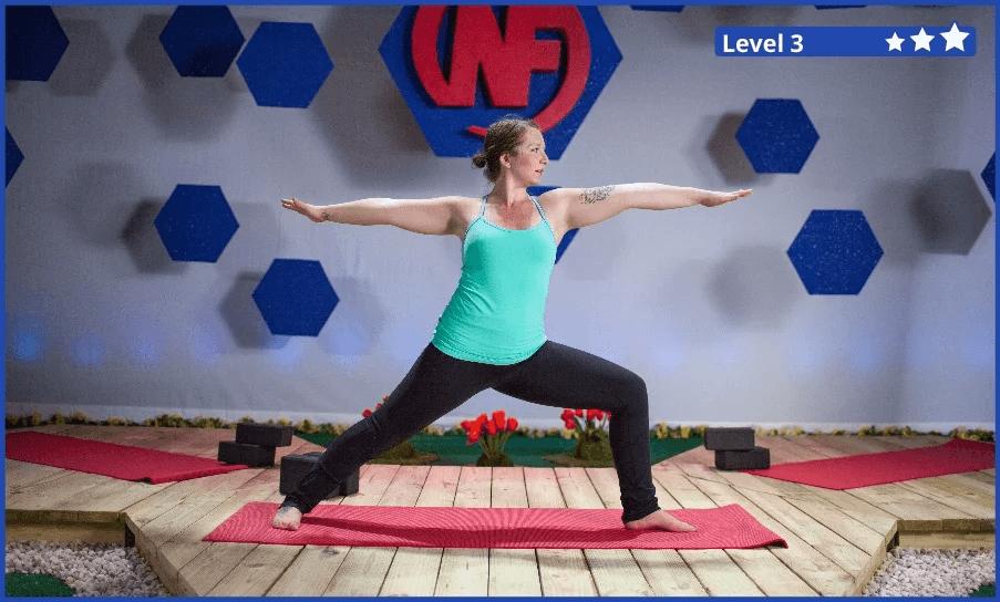 The Yoga Warrior Pose