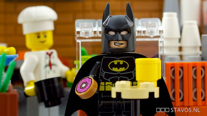 Is this donut part of Batman's meal plan?