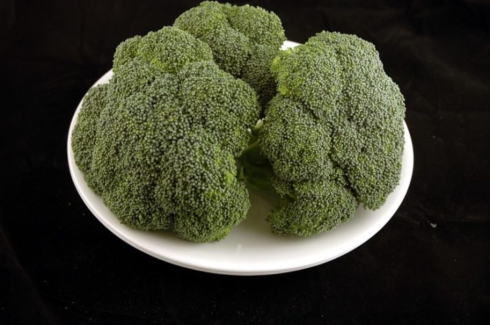 This plate of broccoli is 200 calories.