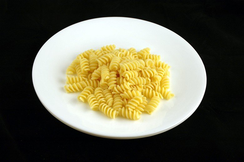 You're right, that's not that much pasta.