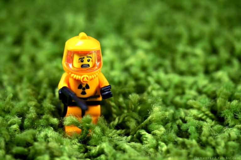 This LEGO is concerned about eating a plant-based diet wrong. The suit might be overkill.