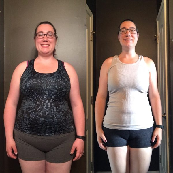 How Emily Started Picking up Barbells, Learned to Meal Plan, and Lost 65 Pounds!